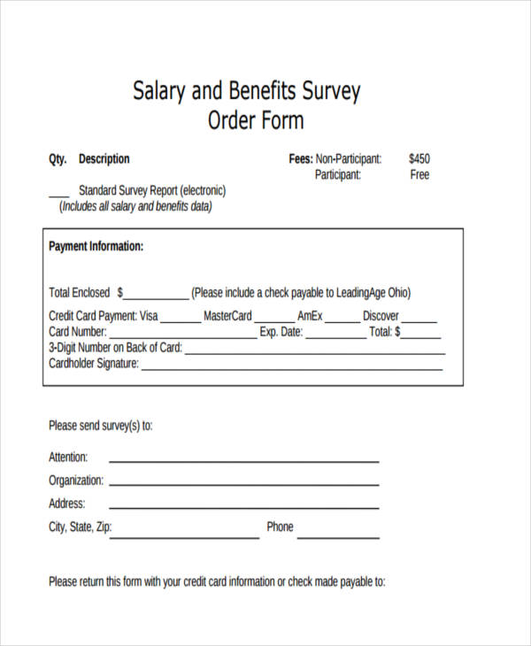 salary survey order form4