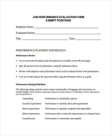 guide to performing a job evaluation Hay group guide chart – profile method of job evaluation is needed for fully competent job performance.