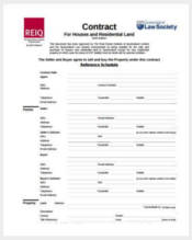 sample house purchase agreement form