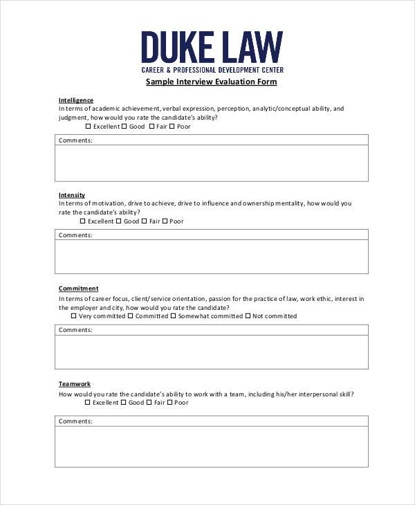 sample interview evaluation form1