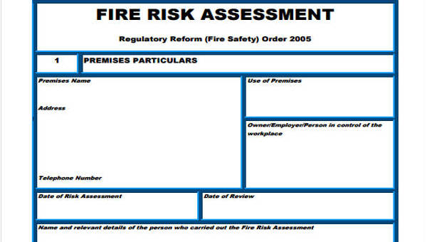 Free 36 Sample Risk Assessment Forms In Pdf Ms Word Managing safety and health is good for business, good for employees and. sample risk assessment forms in pdf