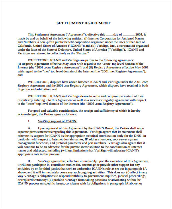 Doc600626 Subordination Agreement Template Sample – Short Term Loan Agreement Form