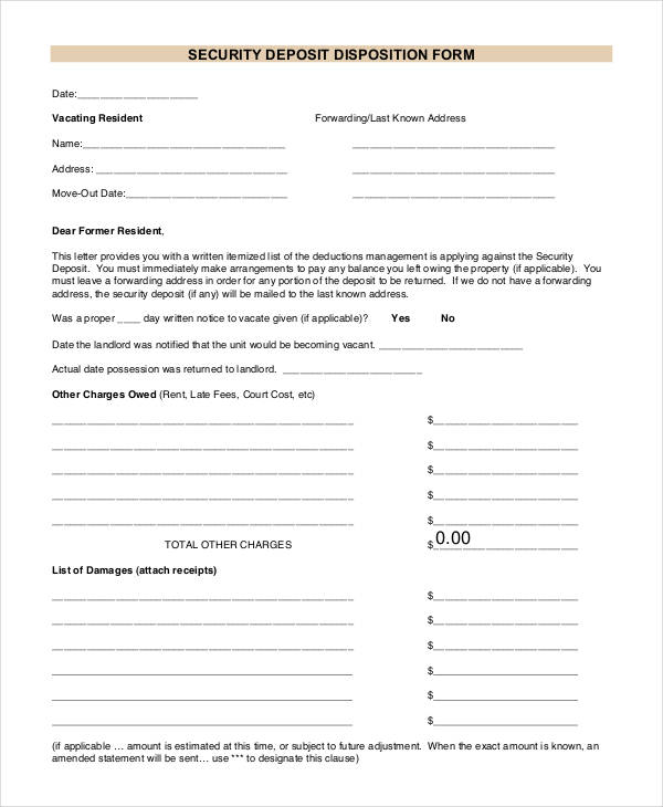 Free 32  Receipt Forms In Pdf