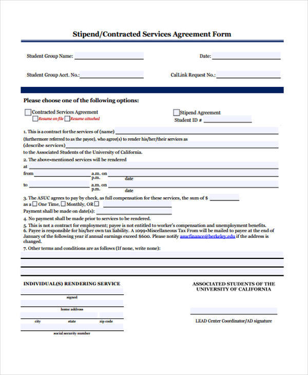 Student Agreement Contract. Actor Specific Release Form Student