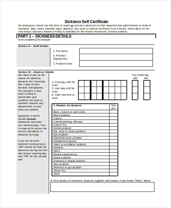 Certificate Forms In Word