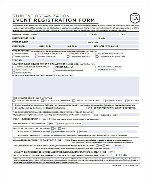 simple event registration form2