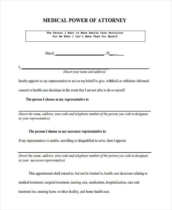 form army power of attorney luxury best simple form pa ma simple