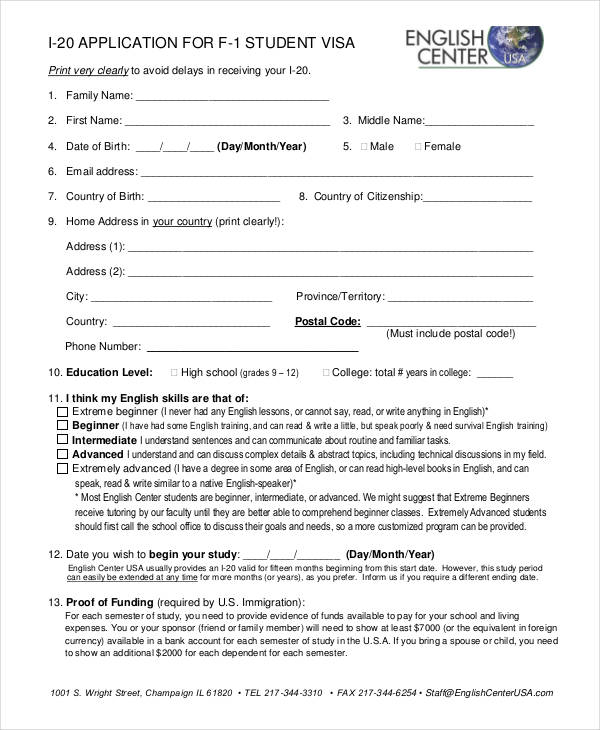Student-US-Visa-Application-Form Sample Application Form Of Ds on form b2, application form print, online application, form frankfurt germany, student visa, filled behalf parents, form for parents, form download pdf, visitor visa, application form philippines, for stamping india, h4 filled, for parents india,