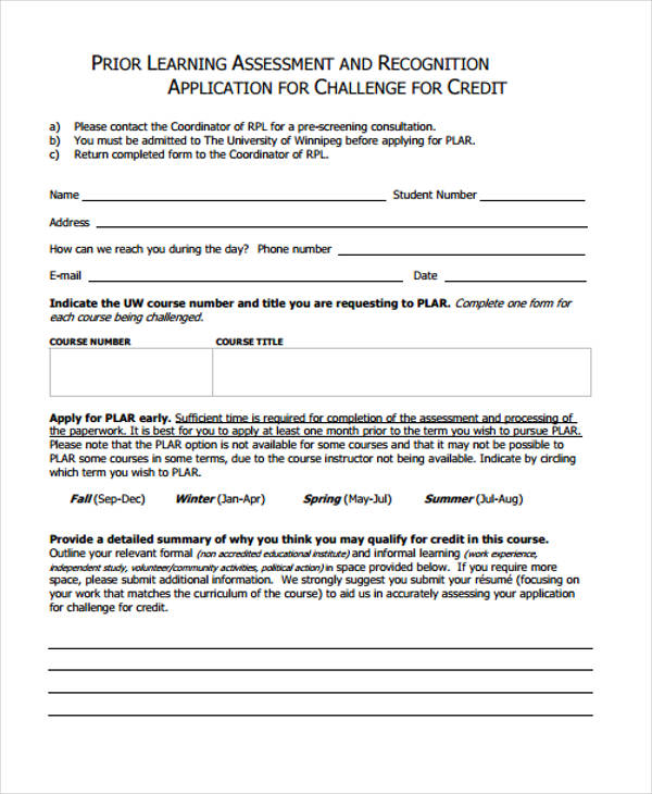 32 Credit Application Forms In Pdf