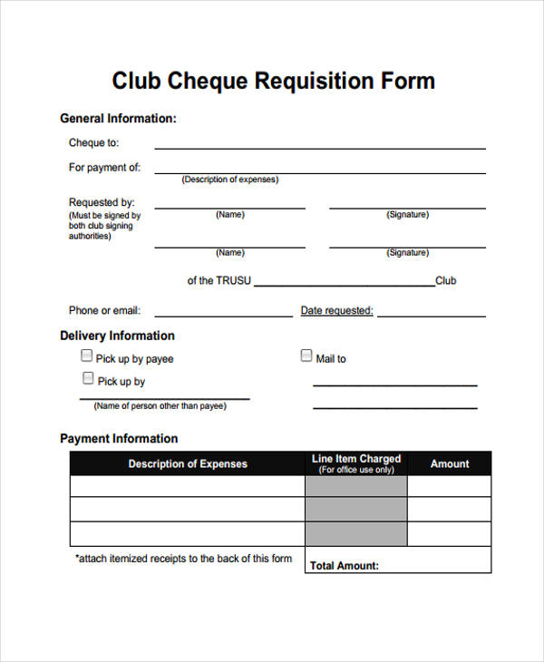 85+ Requisition Form In Pdf