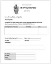 target job application form11