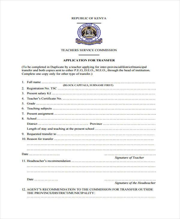teacher education application service application pdf
