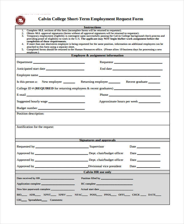 Requisition Form In Pdf