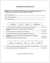training workshop evaluation form1