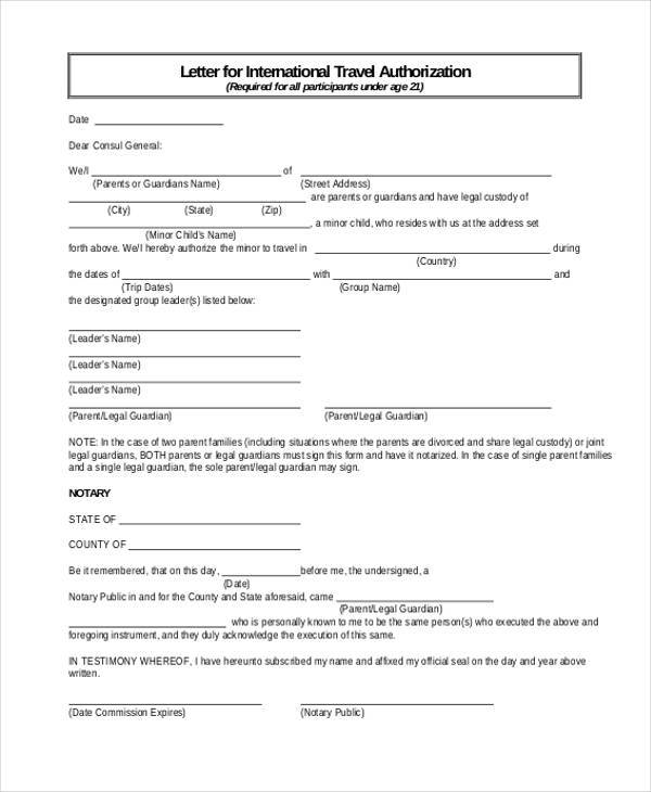 Blank Authorization Forms