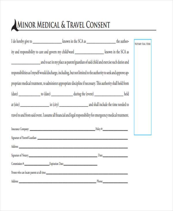 travel child medical consent form3