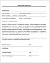 vacation leave application form2