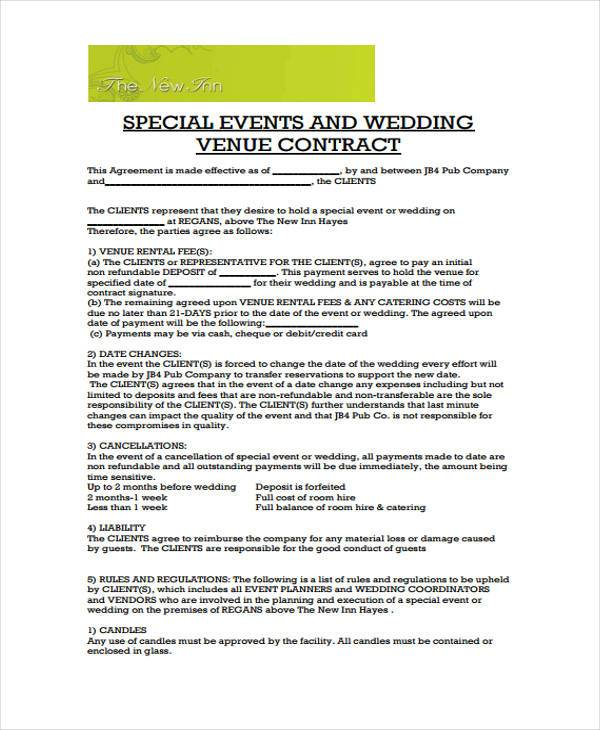 Image Result For Wedding Catering Contract Samples. 38 Awesome