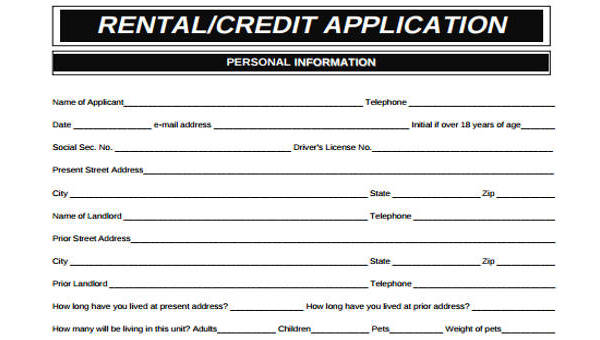 15 credit application form templates cheaphphosting Choice Image