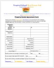 real estate rental agreement form2