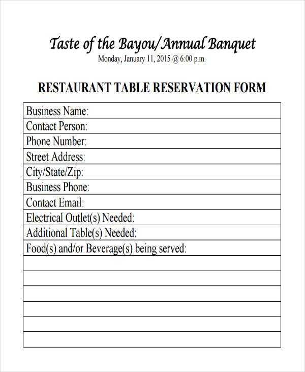 annual banquet restaurant