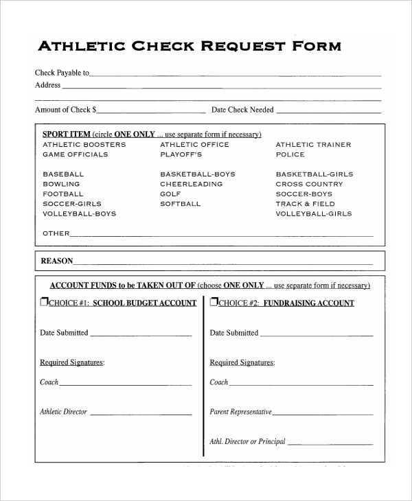athletic check request1