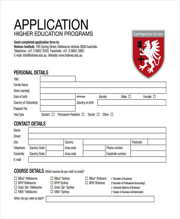 bachelor application accounting