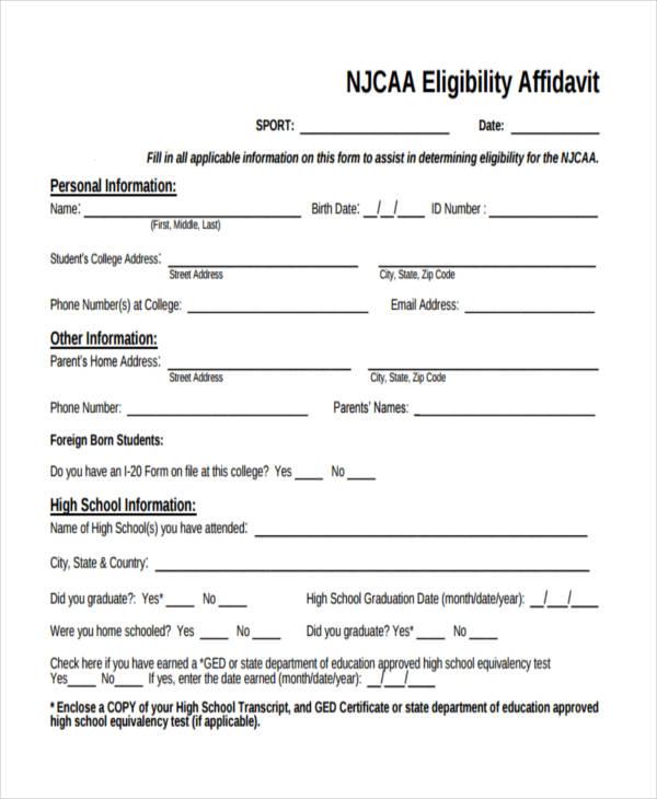 blank eligibility