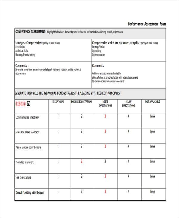 business employee appraisal