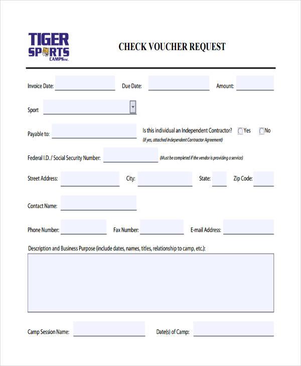 check voucher request1