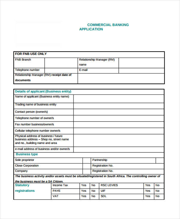 commercial bank lease application form1