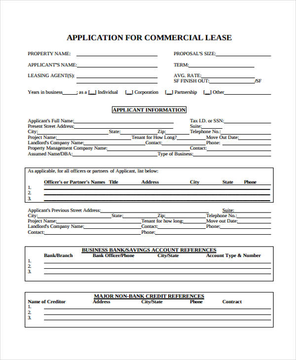 Commercial Credit Application Template Holtzman Propane Forms Www