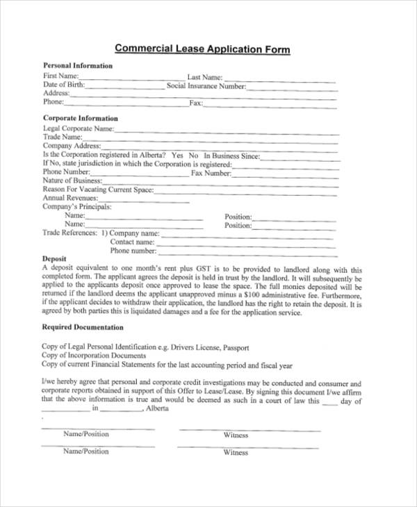 commercial lease credit application form4
