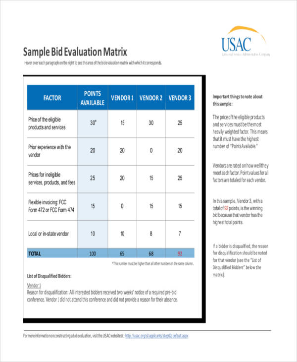construction tender evaluation report sample pdf