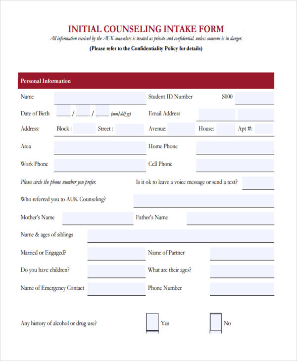 counseling initial intake form1