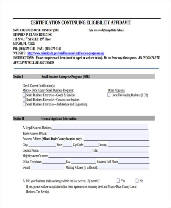 eligibility continuing