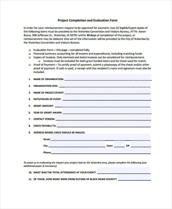 26+ Sample Event Evaluation Forms