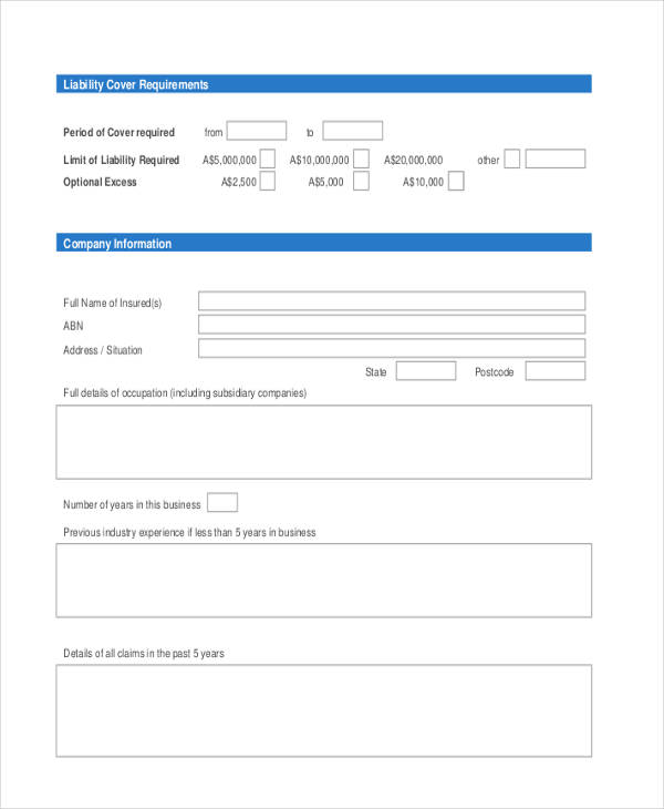 free cleaning proposal form