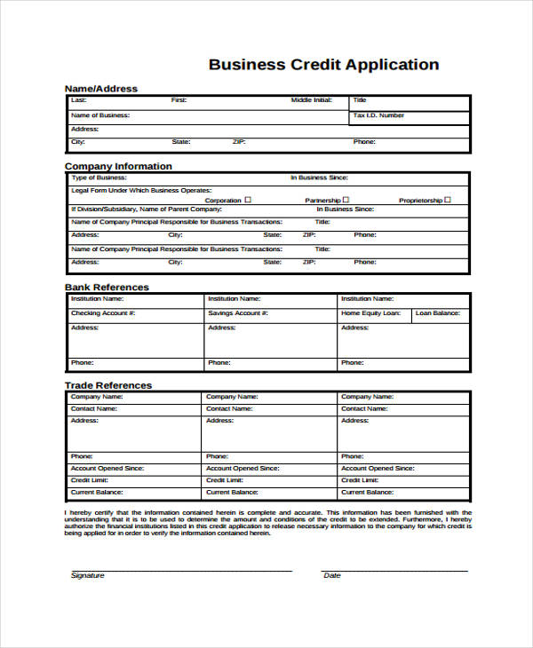 general business credit application form1