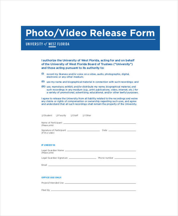 generic photo video release form1