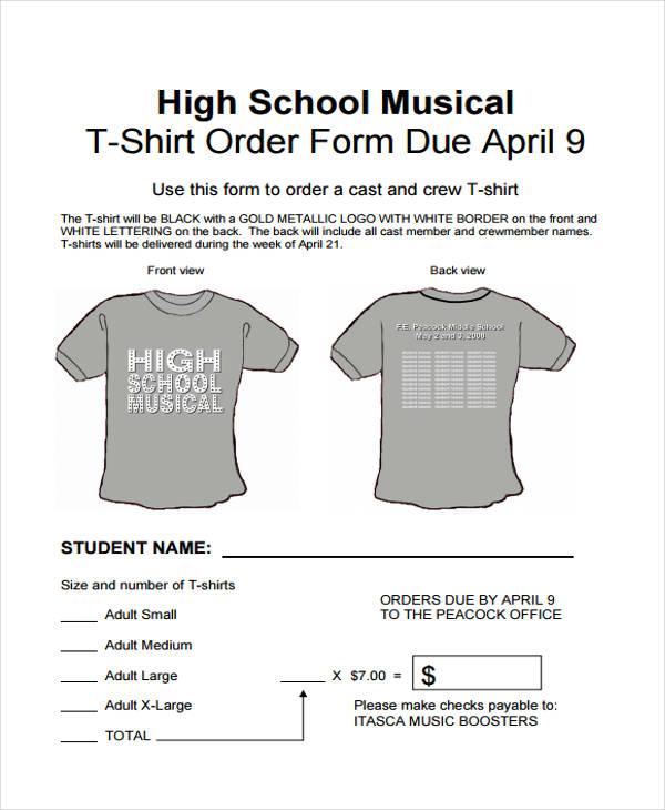 high school t shirt