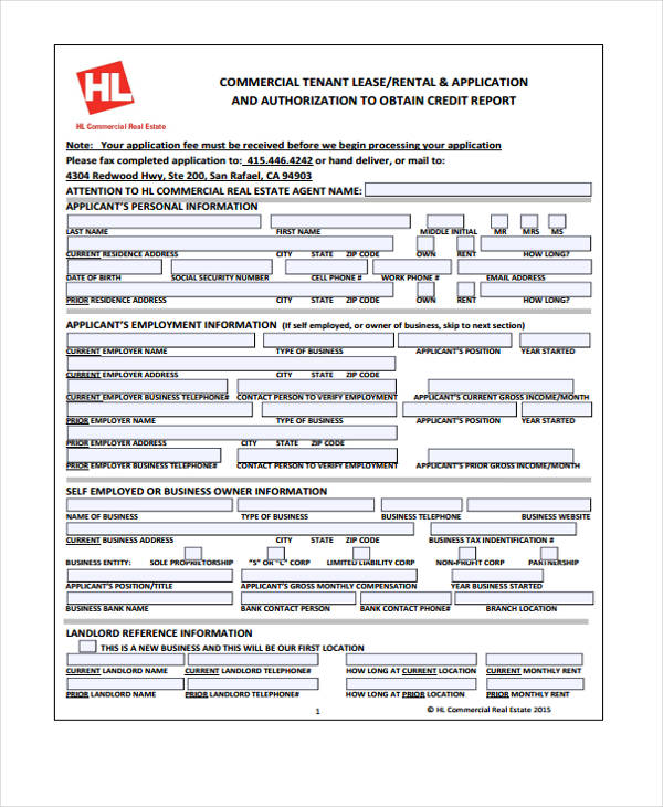 lease credit purchase application form