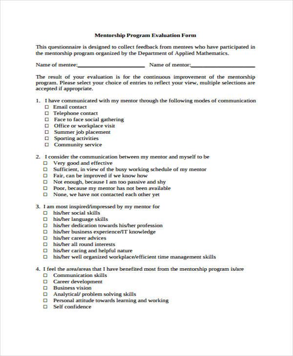 Employee Mentoring Program Template. free goal setting life plan ...