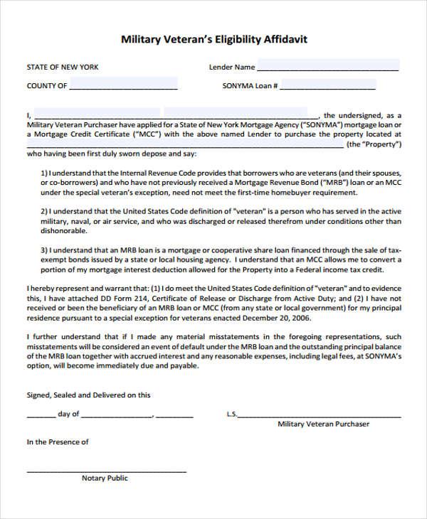 military veterans eligibility