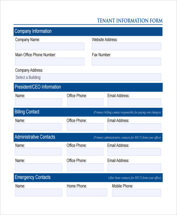office tenant form1