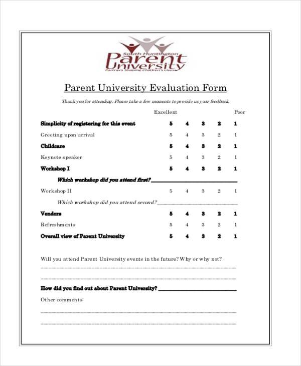 parent university workshop