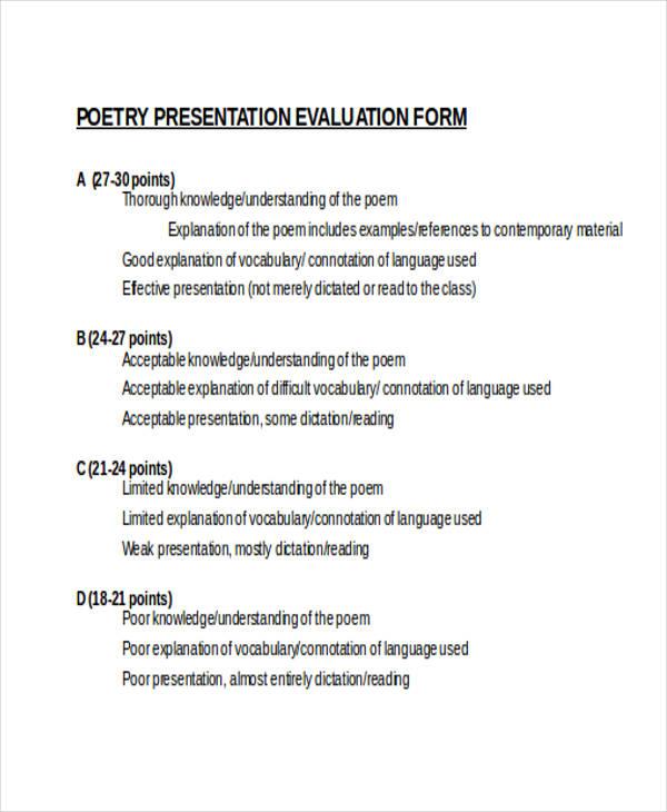 poetry presentation1