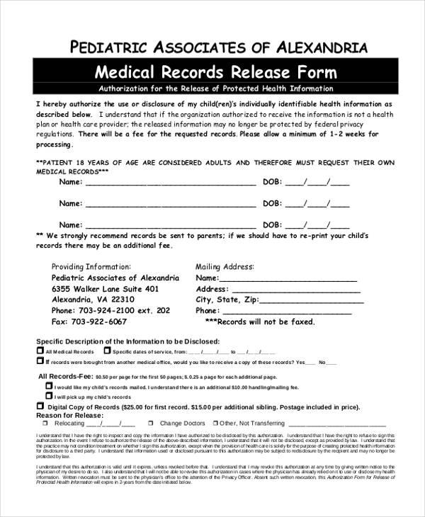 print medical records