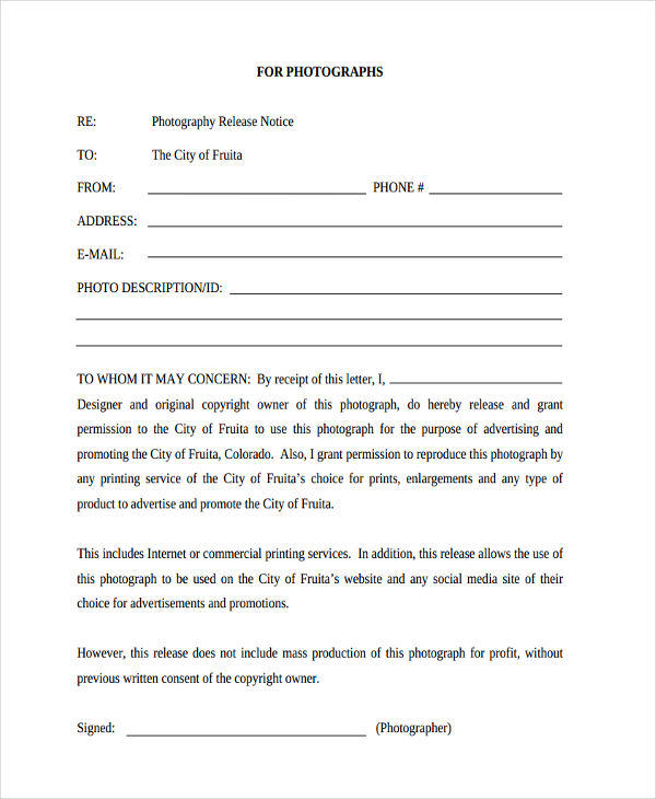 print photography rights release form1