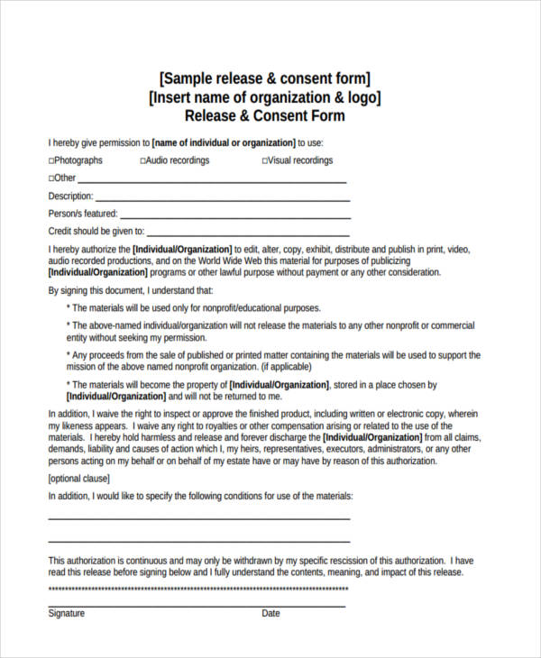 print release consent